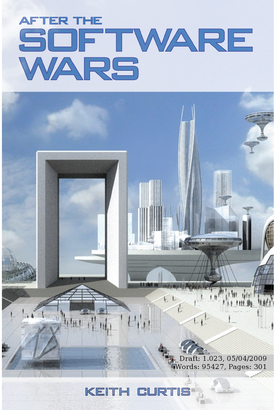 Front page to Keith Curtis' book After The Software Wars