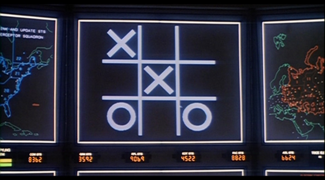 Tic Tac Toe and Global Thermonuclear War, games you can't win